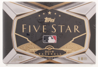 2019 Topps Five Star Baseball Hobby Box - Factory Sealed at PristineAuction.com