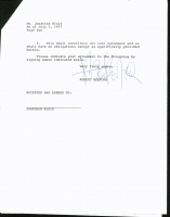 Robert Redford Signed Royalty Contract (PSA LOA) at PristineAuction.com