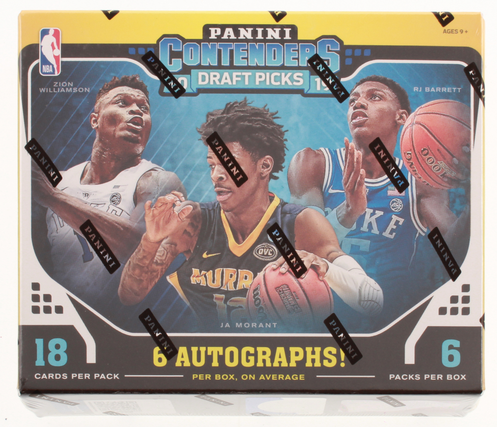 2019-20 Panini Contenders Draft Basketball Hobby Box - Factory Sealed at PristineAuction.com
