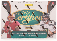 2019 Panini Certified Football Hobby Box - Factory Sealed at PristineAuction.com