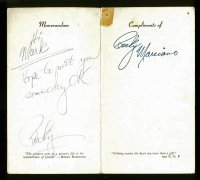 Rocky Marciano Signed Sports Illustrated Memorandum Booklet with Inscription (JSA LOA) at PristineAuction.com