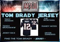 WSD Tom Brady Jersey Mystery Box (Find the Tom Brady Jersey) at PristineAuction.com