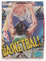 1989-90 Fleer Basketball Wax Box (BBCE Certified) (FASC) at PristineAuction.com