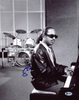 Stevie Wonder Signed 11x14 Photo (Beckett LOA) at PristineAuction.com