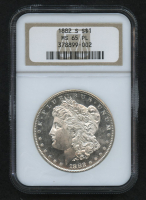 1882-S $1 Morgan Silver Dollar (NGC MS 65 PL) at PristineAuction.com
