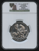 2012 5oz Silver Jumbo 25¢ - El Yunque - Puerto Rico - America's National Treasures - Jumbo Quarter - Early Releases (NGC MS 69 PL) at PristineAuction.com