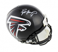 Brett Favre Signed Falcons Full-Size Authentic On-Field Helmet (Radtke COA) at PristineAuction.com