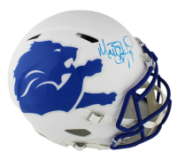 Matthew Stafford Signed Detroit Lions Full-Size Authentic On-Field Speed AMP Helmet (Fanatics Hologram) at PristineAuction.com