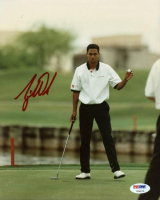 Tiger Woods Signed 8x10 Photo (PSA LOA) at PristineAuction.com