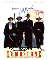 "Kurt Russell, Val Kilmer & Sam Elliott Signed ""Tombstone"" 8x10 Photo (Beckett LOA) at PristineAuction.com"