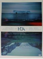 Trent Reznor Signed 18x24 Poster (PSA COA) at PristineAuction.com