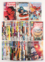 "Lot of (53) 1998-2002 ""Captain America"" Marvel Comic Books at PristineAuction.com"