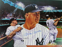 "Mickey Mantle Signed New York Yankees ""Mickey at Night"" 18x24 Poster (JSA LOA) at PristineAuction.com"
