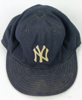 Rickey Henderson Signed Game-Used New York Yankees New Era Fitted Hat (PSA COA & Dave Miedema LOA) at PristineAuction.com