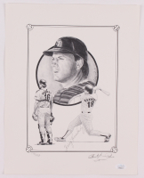 Terry Kennedy Signed LE San Diego Padres 11x14 Print (JSA COA) at PristineAuction.com