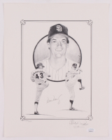 Dave Dravecky Signed LE San Diego Padres 11x14 Print (JSA COA) at PristineAuction.com