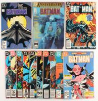 "Lot of (13) 1984-1987 ""Batman"" DC Comic Books at PristineAuction.com"