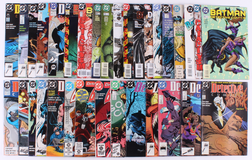 "Lot of (33) 1982-2008 ""Detective Comics"" DC Comic Books at PristineAuction.com"