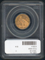 1909-D $5 Indian Head Gold Coin (PCGS MS 64) at PristineAuction.com