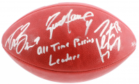 "Brett Favre, Peyton Manning & Drew Brees Signed LE ""The Duke"" Official NFL Game Ball Inscribed ""All Time Passing Leaders"" (Fanatics Hologram) at PristineAuction.com"