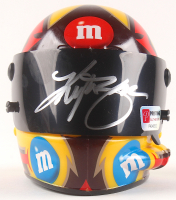 Kyle Busch Signed NASCAR #18 M&M Mini-Helmet (PA COA) at PristineAuction.com