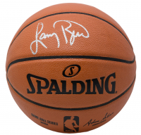 Larry Bird Signed NBA Game Ball Series Basketball (Beckett COA & Bird Hologram) at PristineAuction.com