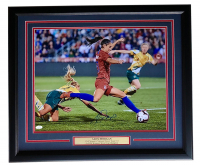 Alex Morgan Signed Team USA Soccer 22x27 Custom Framed Photo Display (JSA COA) at PristineAuction.com