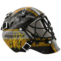 Matt Murray Signed Pittsburgh Penguins Mini Goalie Mask (Fanatics Hologram) at PristineAuction.com