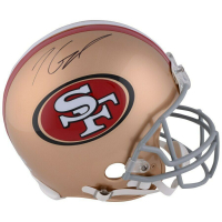 Jimmy Garoppolo Signed San Francisco 49ers Full-Size Authentic On-Field Helmet (Fanatics Hologram) at PristineAuction.com