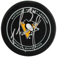 Matt Murray Signed Pittsburgh Penguins Logo Hockey Puck (Fanatics Hologram) at PristineAuction.com