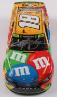 Kyle Busch Signed NASCAR #18 M&M's 2018 Camry - ISM Raceway Win - 1:24 Premium Action Diecast Car (PA COA) at PristineAuction.com