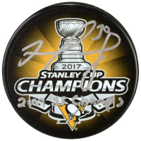 """Matt Murray Signed 2017 Stanley Cup Penguins Logo Hockey Puck Inscribed """"2017 SC Champs"""" (Fanatics Hologram) at PristineAuction.com"""