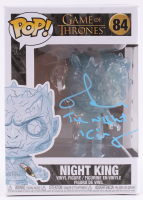 "Richard Brake Signed ""Game of Thrones"" #84 Night King Funko Pop! Vinyl Figure Inscribed ""The Night King"" (Radtke COA) at PristineAuction.com"