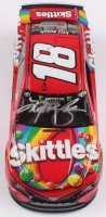 Kyle Busch Signed NASCAR #18 Skittles 2019 Camry - Bristol Win - 1:24 Premium Action Diecast Car (PA COA) at PristineAuction.com