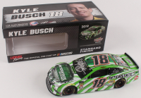 Kyle Busch Signed NASCAR #18 Interstate Batteries 2019 Camry - 1:24 Premium Action Diecast Car (PA COA) at PristineAuction.com
