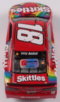 Kyle Busch Signed NASCAR #18 Skittles 2019 Camry - 1:24 Premium Action Diecast Car (PA COA) at PristineAuction.com