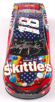 Kyle Busch Signed NASCAR #18 Skittles 2018 Camry - RWB Chicagoland Win - 1:24 Premium Action Diecast Car (PA COA) at PristineAuction.com