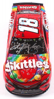 Kyle Busch Signed NASCAR #18 Skittles 2019 Camry - ISM Raceway Win - 1:24 Premium Action Diecast Car (PA COA) at PristineAuction.com