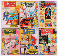 "Lot of (6) ""Superman"" Action Comics DC Comic Books at PristineAuction.com"