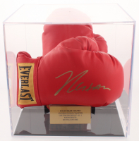 Julio Cesar Chavez Signed Everlast Boxing Glove Pair with Display Case (JSA COA) at PristineAuction.com