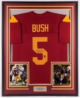 Reggie Bush Signed 34x42 Custom Framed Jersey (Bush Hologram) at PristineAuction.com