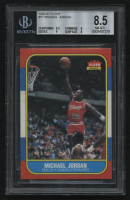 1986-87 Fleer #57 Michael Jordan RC (BGS 8.5) at PristineAuction.com