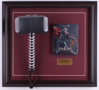 "Stan Lee Signed ""Thor"" 18.5x20.5 Custom Framed DVD Cover Display (PSA COA) at PristineAuction.com"