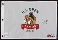 Dustin Johnson Signed 2016 U.S. Open Pin Flag (JSA COA) at PristineAuction.com