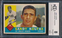 1960 Topps #343 Sandy Koufax (BCCG 8) at PristineAuction.com