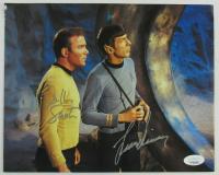 "William Shatner & Leonard Nimoy Signed ""Star Trek"" 8x10 Photo (JSA COA) at PristineAuction.com"