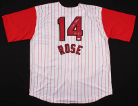 "Pete Rose Signed Jersey Inscribed ""Hit King"" (JSA COA) at PristineAuction.com"
