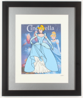 "Walt Disney's ""Cinderella"" 16x19 Custom Framed Animation Serigraph Display at PristineAuction.com"