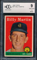 1958 Topps #271 Billy Martin (BCCG 9) at PristineAuction.com