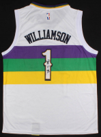 Zion Williamson Signed New Orleans Pelicans Jersey (JSA ALOA) at PristineAuction.com